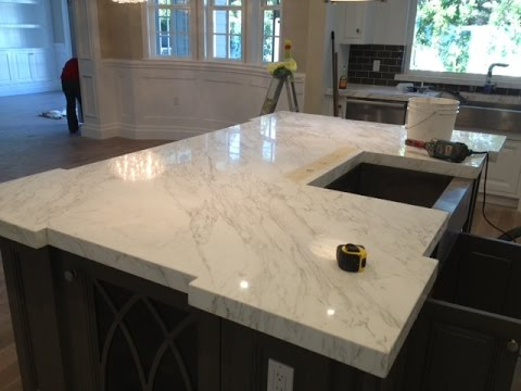 Installing Marble Countertops