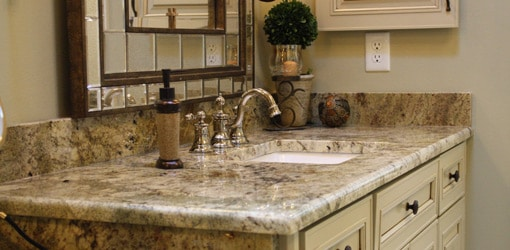 vanity tops for bathrooms in Dallas
