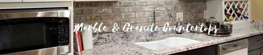 Marble & Granite Countertops in University Park Texas